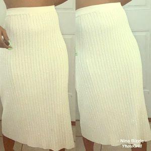 Dresses & Skirts - Grace elements sparkle knit skirt🔱